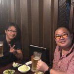 東京営業所長と飲み。