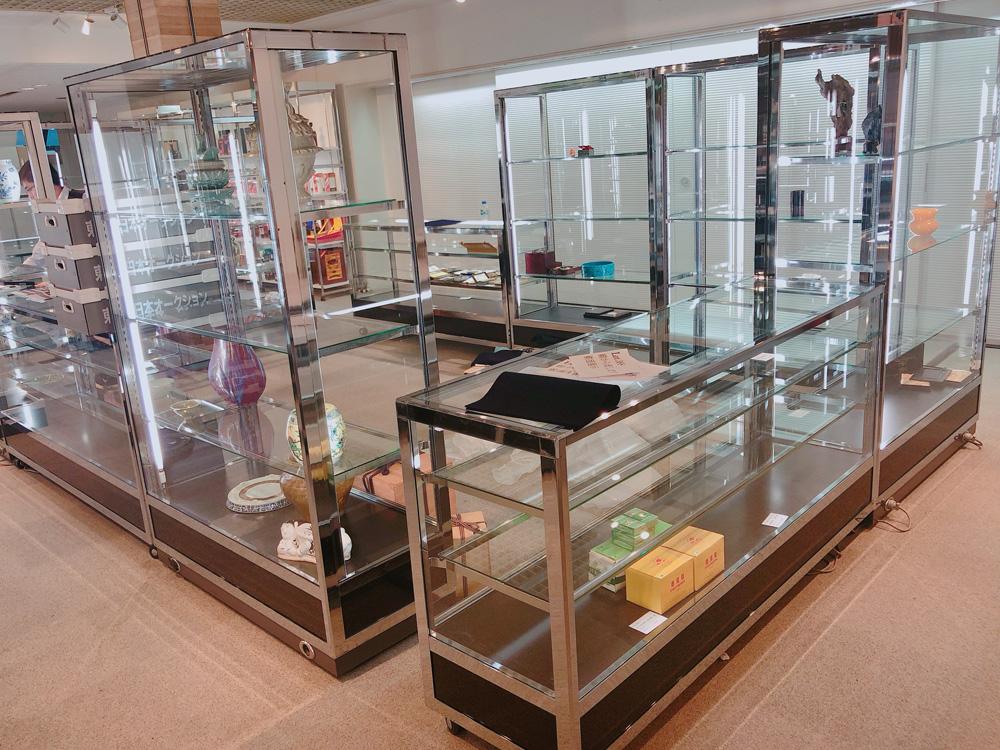 コンパクトガラスケース 展示風景