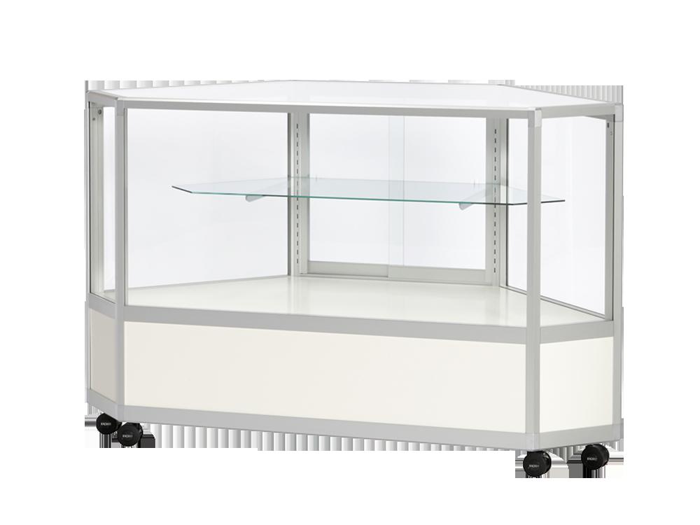 全面ガラスケース 棚板1段