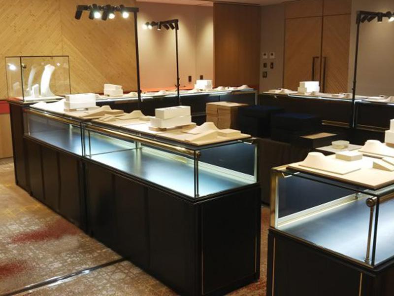 大分県での宝飾ブランド展示会
