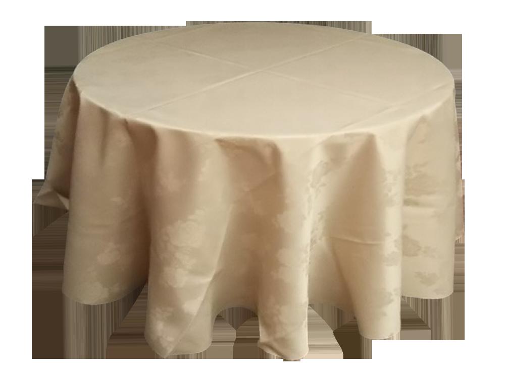 柄付きテーブルクロス