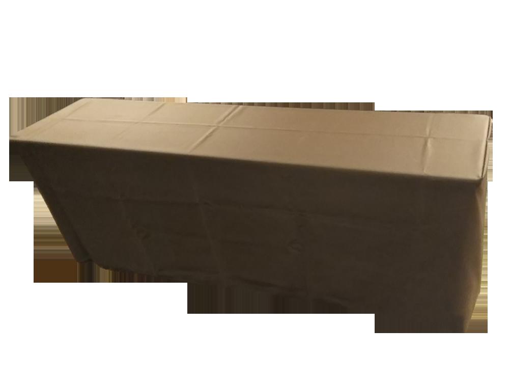 茶色テーブルクロス