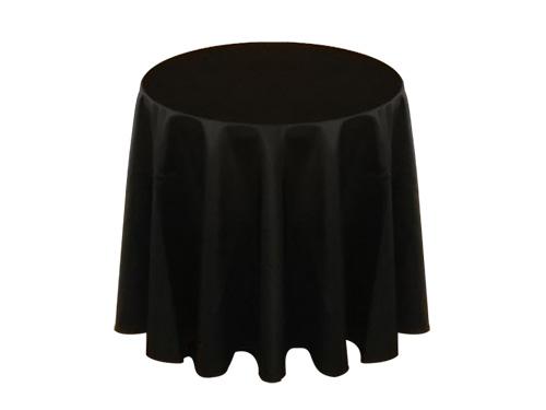 展示用黒テーブルクロス
