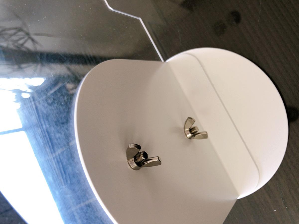 丸机用飛沫防止パネル 使用イメージ1