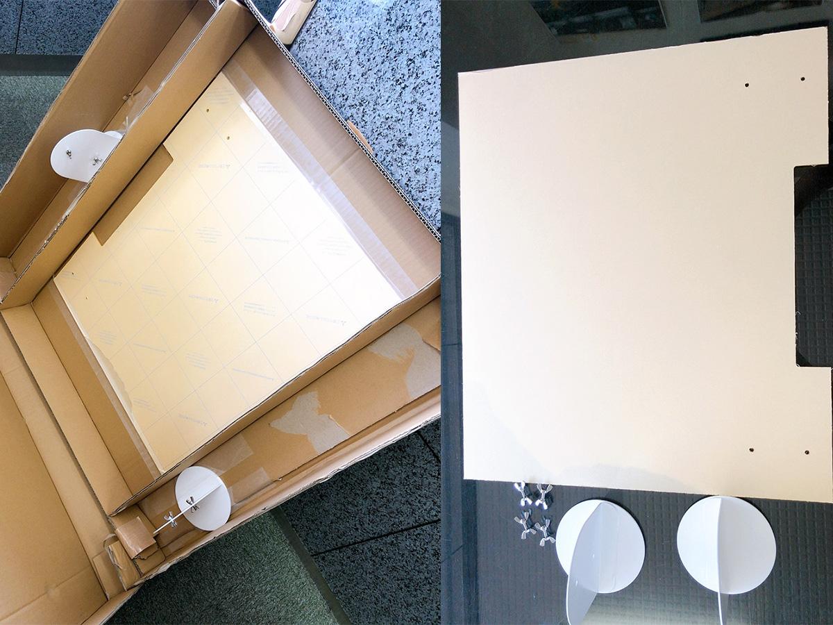 丸机用飛沫防止パネル 使用イメージ3