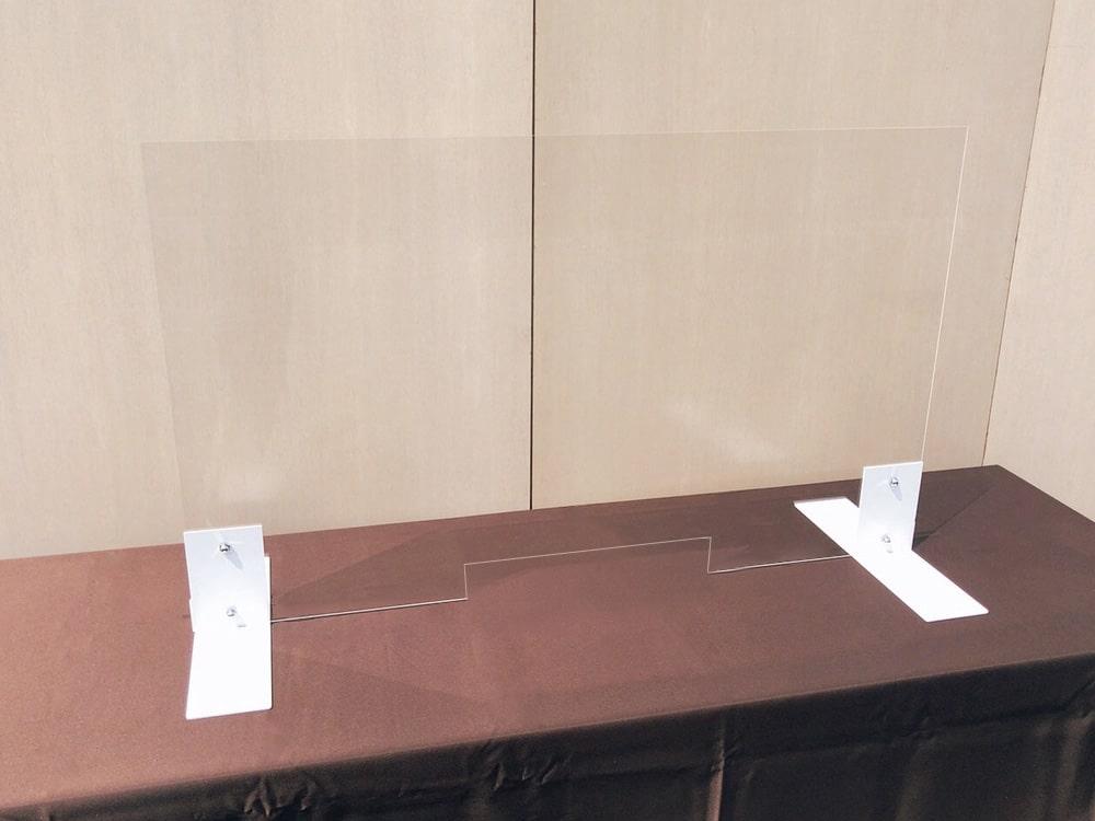 対面接客用コロナ防止パネル